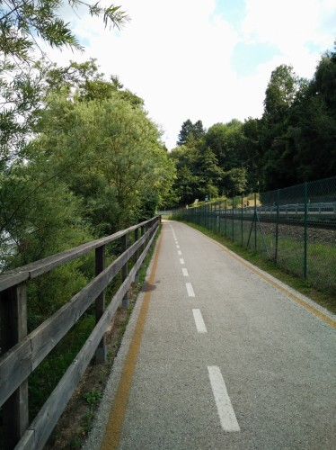 Pista ciclopedonale Caldonazzo al Lago