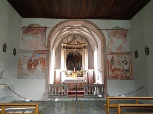 Arco frontale affreschi