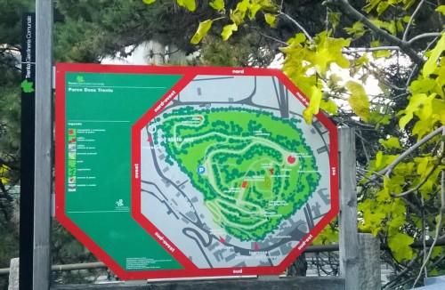 Pianta Parco Doss Trento